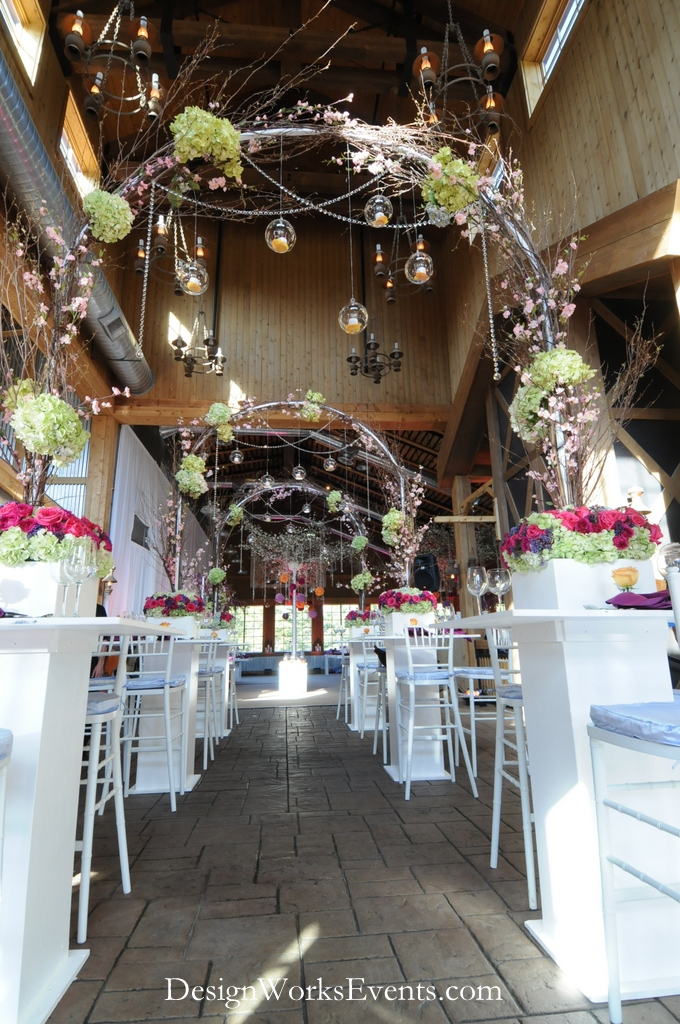Cabaret Table Floral Arches