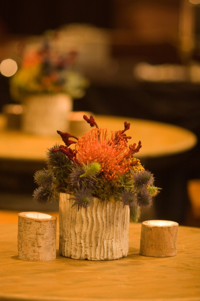 Cocktails - Wildflower Centerpiece
