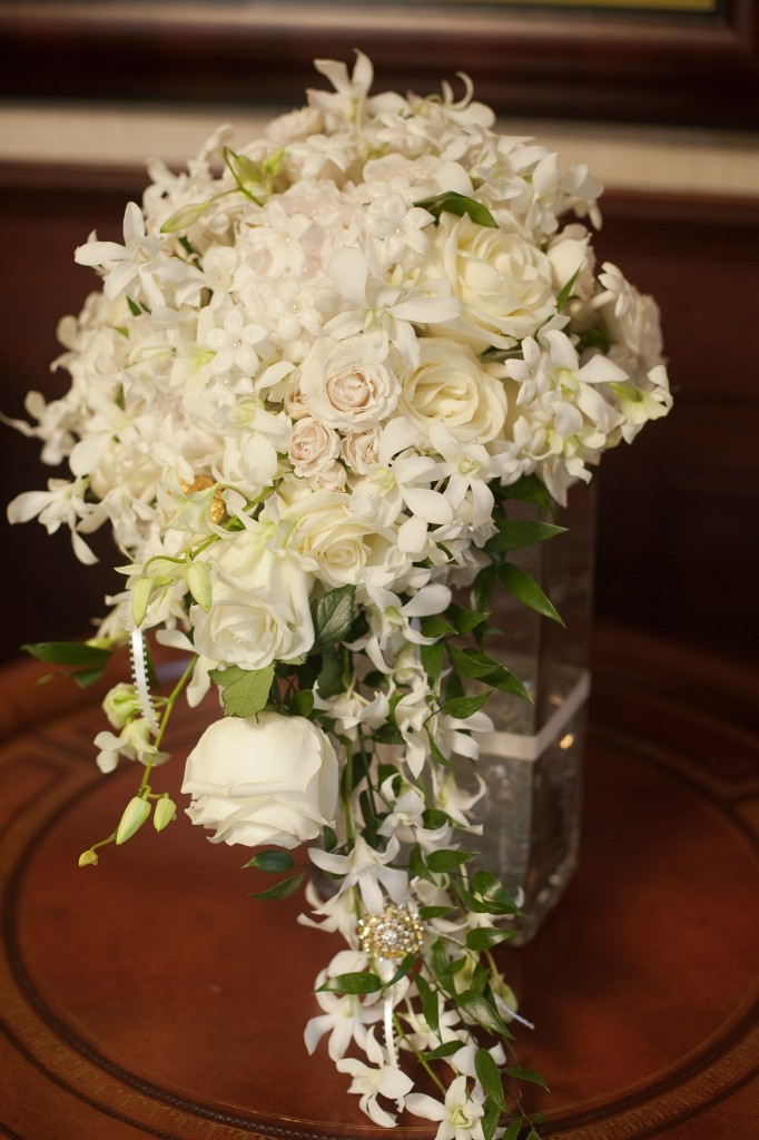 Stephanotis & Rose Bouquet