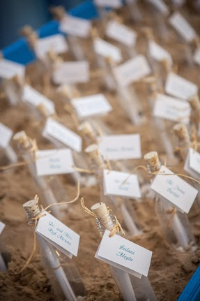 Message in a Bottle Escort Cards