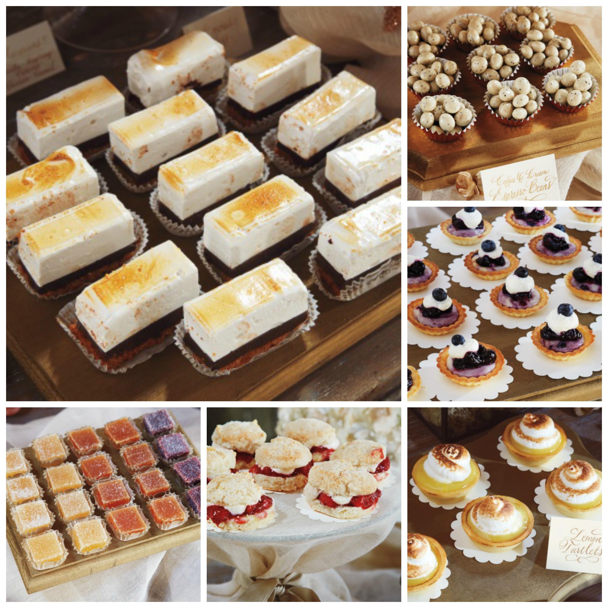 Reynolds/Lively Dessert Collage