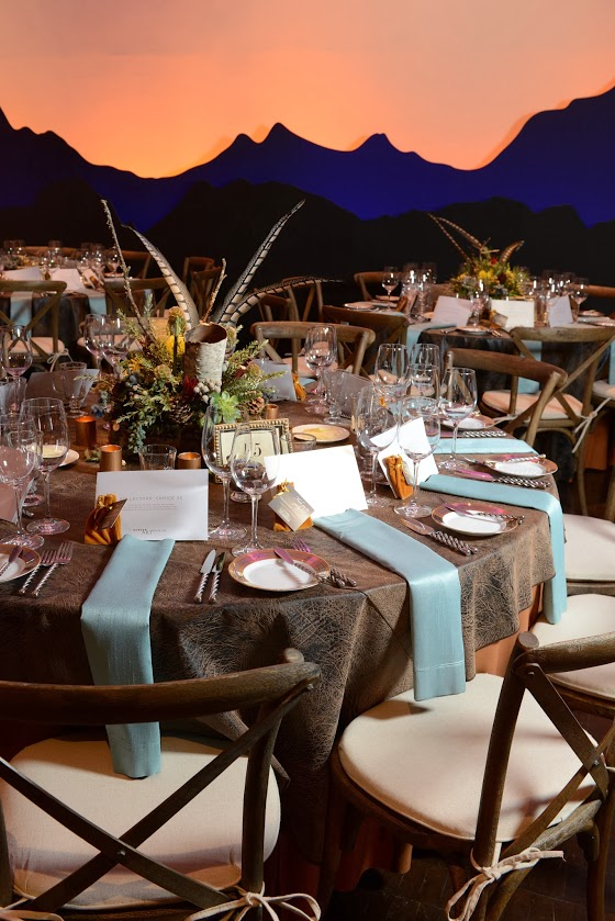 Upscale Western Guest Table