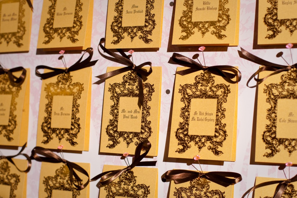 Juicy Couture Escort Cards