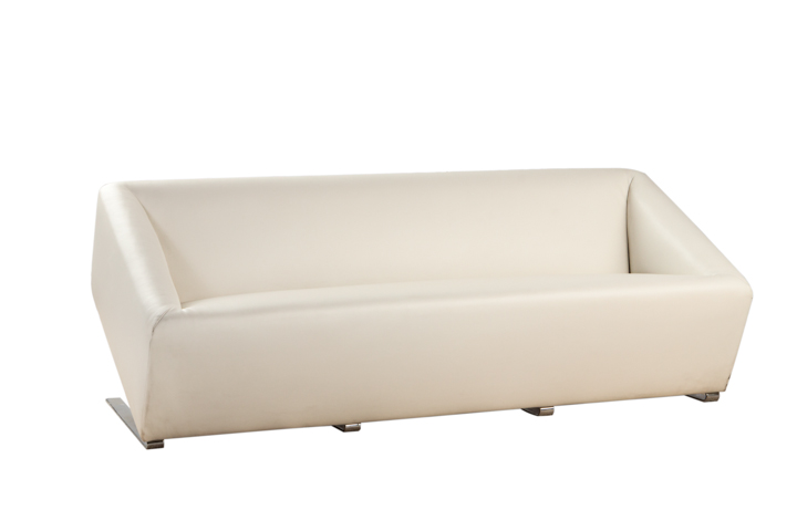 Floating White Cube Sofa
