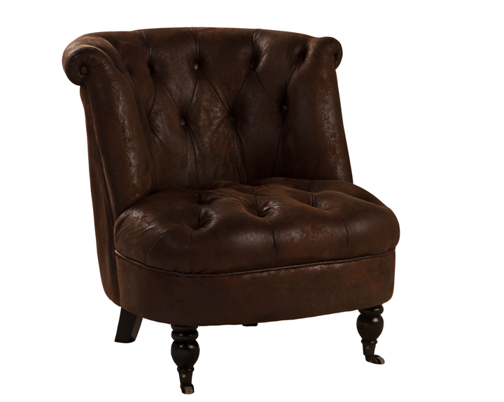 Saddle Barrel Chair