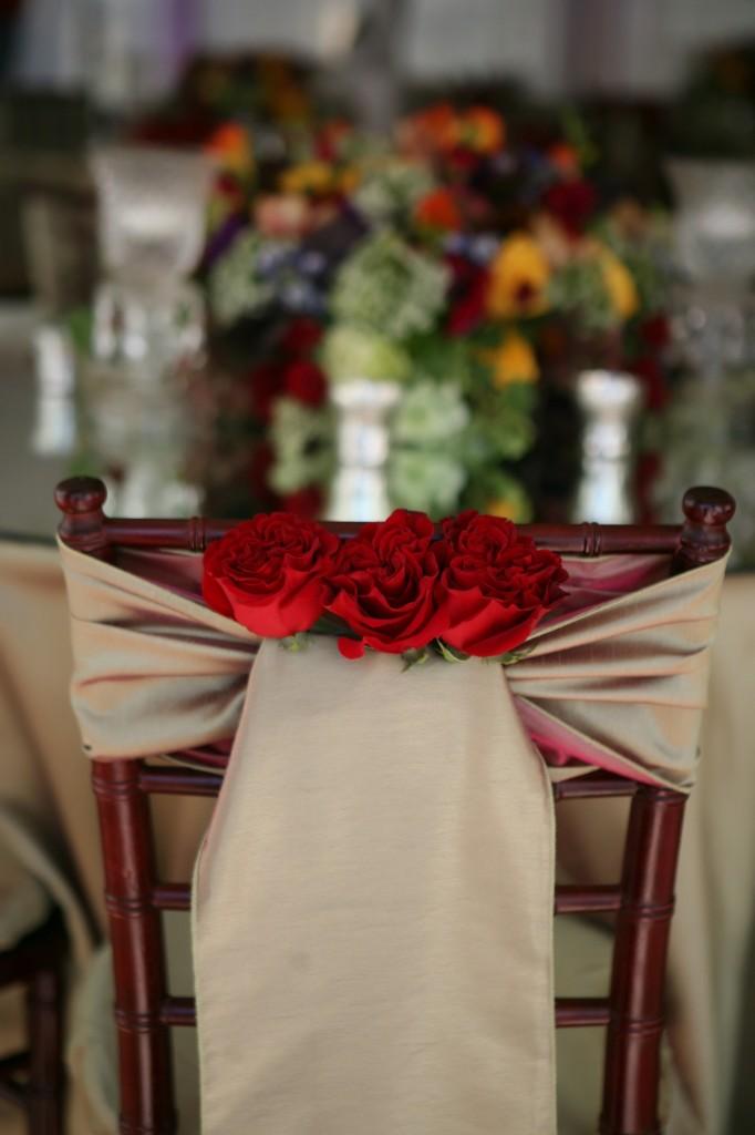 Mahogany Chivari Sahd and Roses