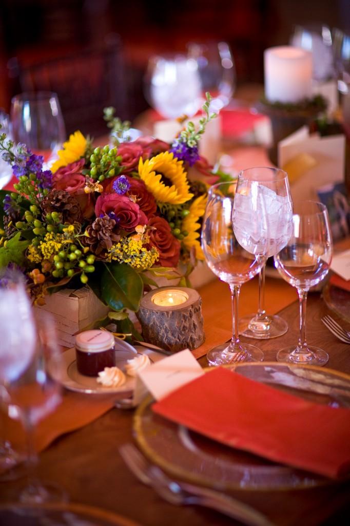 Gemmill Wedding at Crooked Willow, birch wrap box centerpiece 09.10.10 (23)