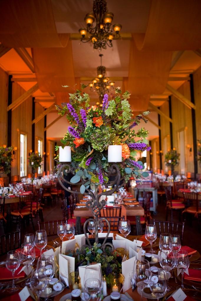 Gemmill Wedding at Crooked Willow, candelabra centerpiece 09.10.10 (26)